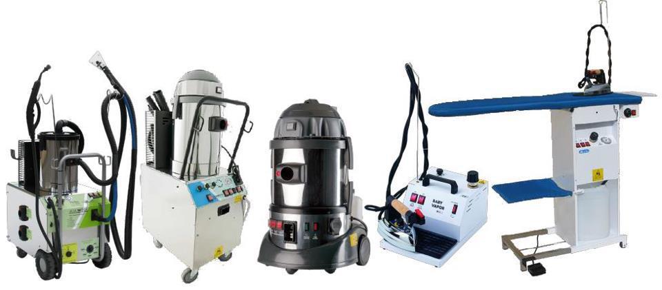 Profesionali valymo įranga SteamLur
