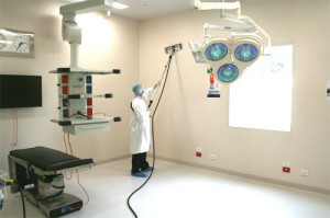 SteamLur ligoninių ir poliklinikų valymo garais įranga